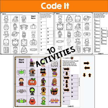 Halloween Unplugged Coding for Beginners