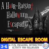 Halloween Upper Elementary Interactive Digital Escape Room