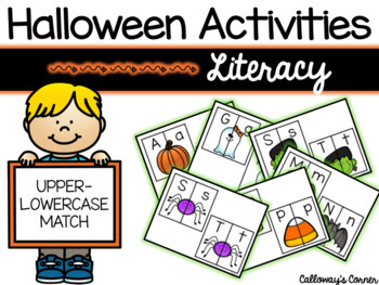 Halloween Upper/Lowercase Matching SET TWO