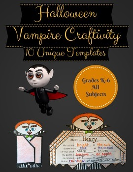 Halloween Writing Prompts - Foldable Craftivity - NO PREP!