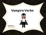 Halloween Vampire Irregular and Regular Verbs