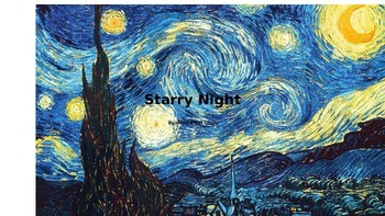 Halloween Van Gogh Starry Night