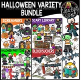 Halloween Variety Clip Art Bundle {Educlips Clipart}