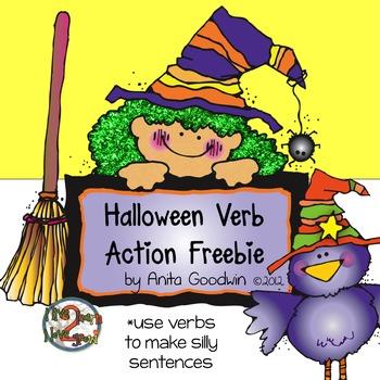 Halloween Verb Action