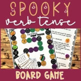 Halloween Verb Tense Board Game