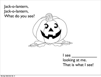 Halloween Version:  What Do You See?