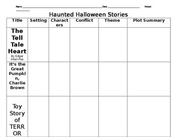 Halloween Video Activity