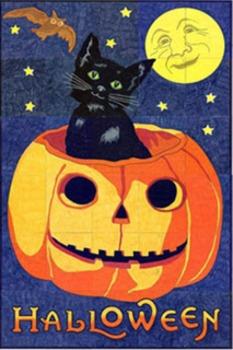 Halloween Vintage Mural