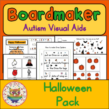 Halloween Visual Aids and Activities - Boardmaker Visual Aids for Autism