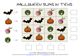 Halloween Pack - Math, Puzzles and Geometric Art