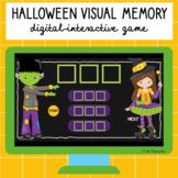 Halloween Visual Memory Digital Interactive Game