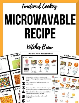 Halloween Visual Microwave Recipe - Witches Brew (Individual Portions!)