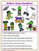 Halloween Visual Perceptual Puzzles