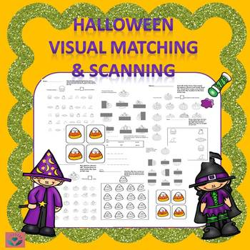 Occupational Therapy Halloween Visual Skills Fun