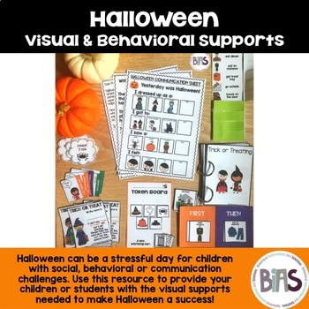 Halloween Visual and Behavioral Supports