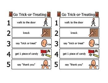 Halloween Visuals for Autism