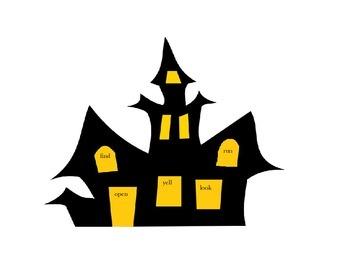 Halloween Vivid Verbs!