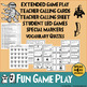 Halloween Vocabulary Bingo Game. ELL, ESL Game and Elementary Games.