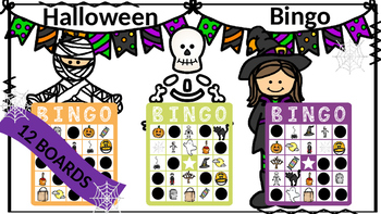 Halloween Vocabulary Bingo