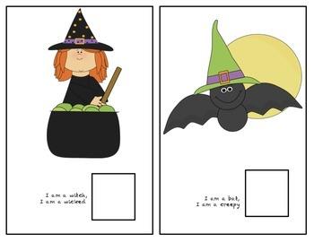 Halloween Vocabulary Book
