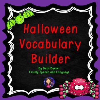 Halloween Vocabulary Builder