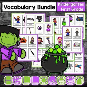 Halloween Vocabulary ~Bundle~