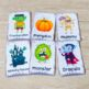 Halloween Vocabulary Cards 2in1