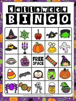 Halloween Vocabulary Cards, Literacy Centers, Games and More....