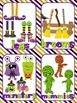 Halloween Vocabulary Cards Plurals Word Wall