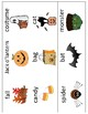 Halloween Vocabulary Cards and Mini Books BUNDLE