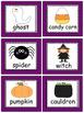 Halloween Vocabulary Centers