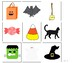 Halloween Vocabulary Flashcards/Cariboo Cards/Games/Data Sheets- NO PREP