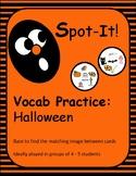 Halloween Spot It/Dobble/Vocabulary Game