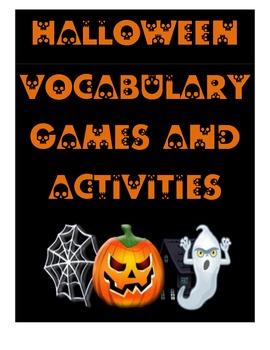 Halloween Vocabulary Games and Activities