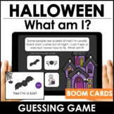 Halloween Vocabulary Guessing Game: Boom Cards - Digital T