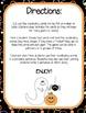 Halloween Vocabulary Memory Game