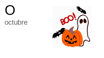 Halloween Vocabulary/Review Lesson