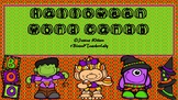 Halloween Vocabulary Rich Fun Word Cards: ABC Sort, Word Wall, Writing and More!