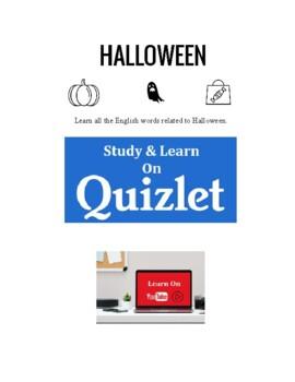 Halloween Vocabulary Worksheets
