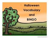 Halloween Vocabulary and BINGO