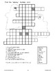 Halloween--Vocabulary and Puzzles