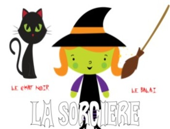 Halloween Vocabulary for French Classes PowerPoint