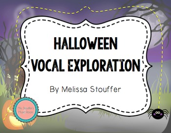 Animated Halloween Vocal Exploration Set