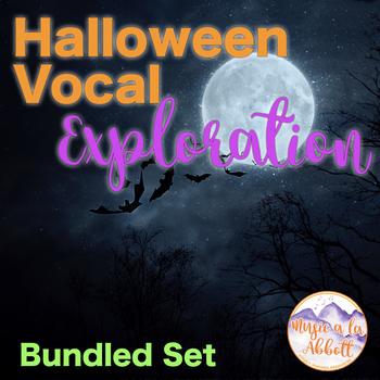 Halloween Vocal Exploration: Bundled Set