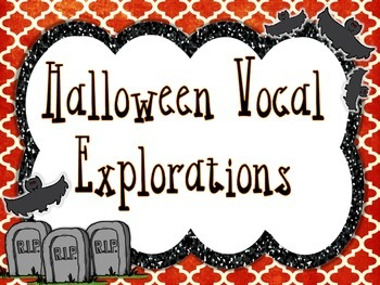 Halloween Vocal Explorations