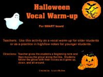 Halloween Vocal Warm-up