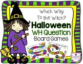Halloween WH Question Board Games