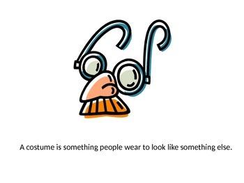 Halloween: Wearing a Costume