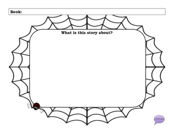 Halloween Web of Books - Open Ended Packet
