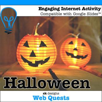 Halloween WebQuest - Engaging Internet Activity